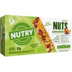 Barra Nuts Nutry Sementes com 2 und