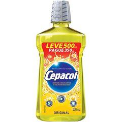 Enxaguante Bucal Cepacol Original Leve 500ml Pague 350ml