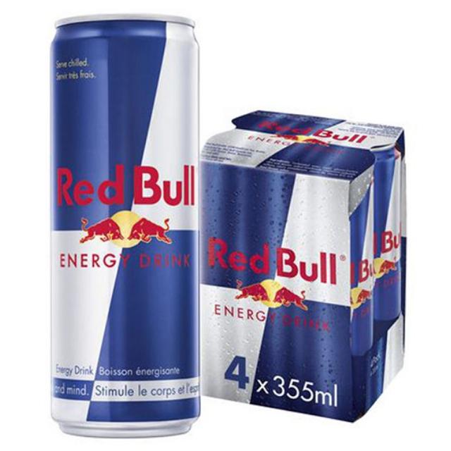 Energético Red Bull Energy Drink Pack com 4 Latas de 355ml